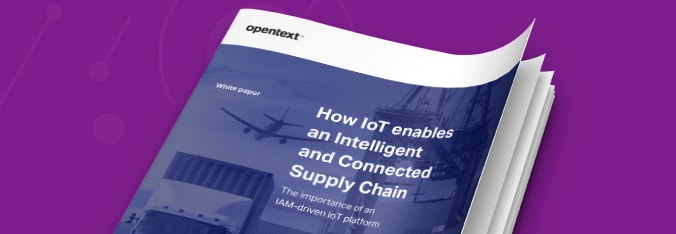 How IoT Enables an Intelligent & Connected Supply Chain white paper