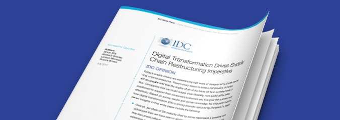 Digital Transformation Drives Supply Chain Restructuring Imperative report image