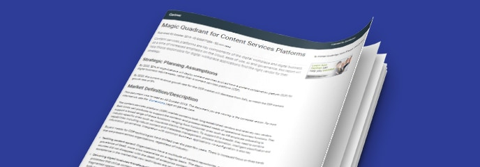 Magic Quadrant for Content Services Platform