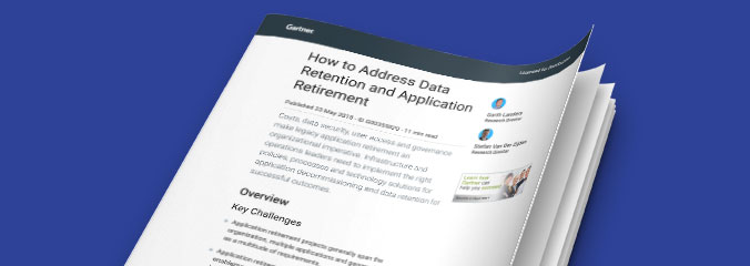 How to Address Data Retention and Application Retirement
