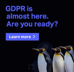 GDPR is almost here. Are you ready?