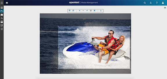 OpenText Media Management tools for images